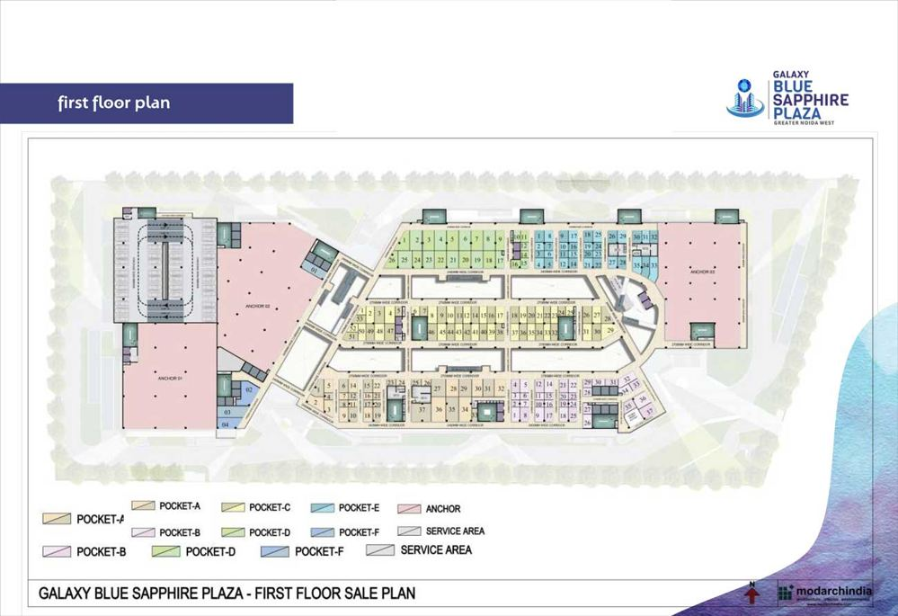 galaxy blue sapphire first floor plan